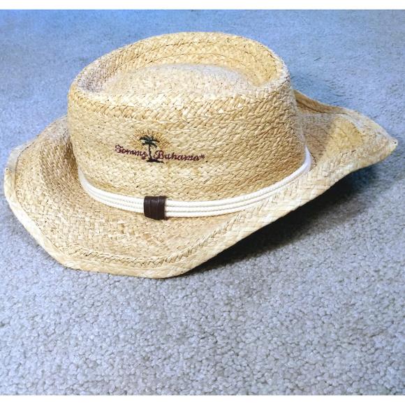 Tommy Bahama Hat Shade Maker Genuine Raffia Fiber.  M 5b358d233e0caa15b6f395f8 e23737743fd